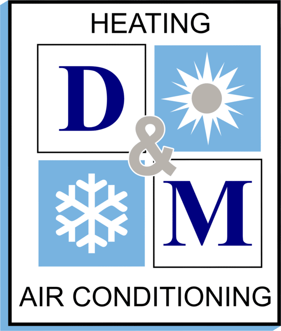 D M Heating & Air Conditioning Logo