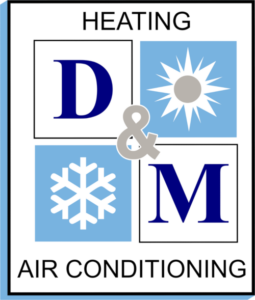 D M Heating and Air Conditioning Logo